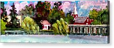 Jacksonville Nc Waterfront Acrylic Print