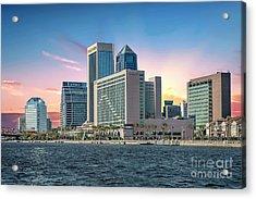 Jacksonville Acrylic Print by Richard Burr
