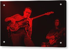 Jaco On Air - Red Acrylic Print by Philippe Taka
