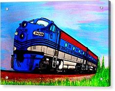 Jacob The Train Acrylic Print