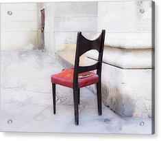 Jacob's Chair Acrylic Print by Artecco Fine Art Photography