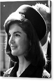 Jacqueline Kennedy, Joins The President Acrylic Print by Everett