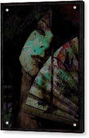 Jade Acrylic Print by Adam Kissel