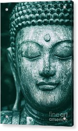 Jade Buddha Acrylic Print by Tim Gainey