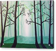 Jaded Forest Acrylic Print