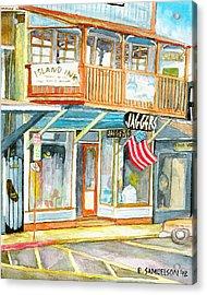 Jaggers Acrylic Print