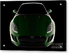 Jaguar F-type - Front View Acrylic Print
