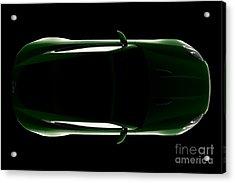 Jaguar F-type - Top View Acrylic Print
