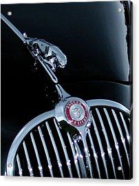 Jaguar Hood Ornament Acrylic Print