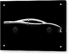 Jaguar Xj220 - Side View Acrylic Print
