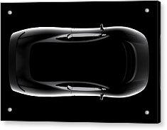 Jaguar Xj220 - Top View Acrylic Print