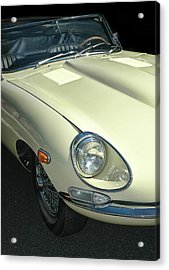 Jaguar Xke Roadster Acrylic Print by Dave Mills