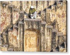 Jaipur - India Acrylic Print by Joana Kruse
