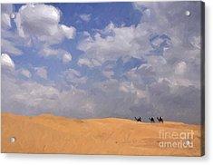 Jaisalmer Desert Festival-1 Acrylic Print