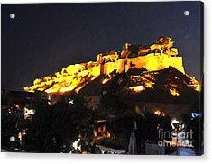 Jaisalmer Desert Festival-3 Acrylic Print