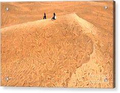 Jaisalmer Desert Festival-4 Acrylic Print