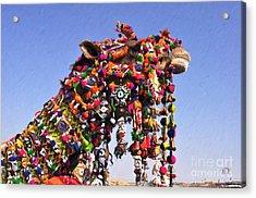 Jaisalmer Desert Festival-5 Acrylic Print