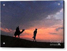 Jaisalmer Desert Festival-6 Acrylic Print