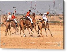 Jaisalmer Desert Festival-7 Acrylic Print
