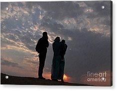 Jaisalmer Desert Festival-8 Acrylic Print