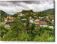Jajce, Bosnia And Herzegovina Acrylic Print by Elenarts - Elena Duvernay photo