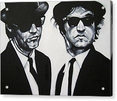 Jake And Elwood Acrylic Print