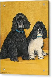 Jake And Lucy Acrylic Print by Sharon Farber