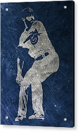 Jake Arrieta Chicago Cubs Art Acrylic Print