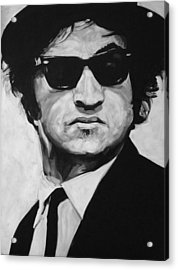 Jake Acrylic Print by Steve Hunter