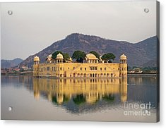 Acrylic Print featuring the photograph Jal Mahal  by Yew Kwang