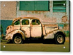 Acrylic Print featuring the photograph Jalopy by Skip Hunt