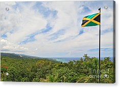 Jamaican Pride Acrylic Print