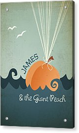 James And The Giant Peach Acrylic Print
