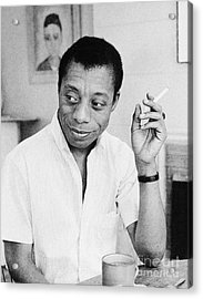 James Baldwin Acrylic Print