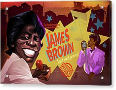 James Brown Acrylic Print