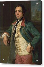 James Caulfeild, 4th Viscount Charlemont Acrylic Print by Pompeo Batoni