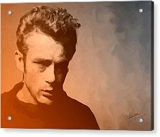 James Dean Acrylic Print by Debbie McIntyre