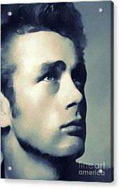 James Dean, Hollywood Classics Acrylic Print