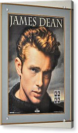 James Dean Hollywood Legend Acrylic Print