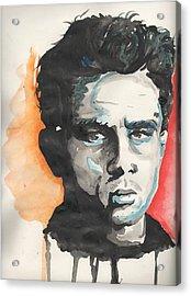 James Dean Acrylic Print by Matt Burke