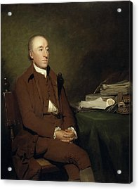 James Hutton, 1726 - 1797. Geologist Acrylic Print