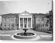 James Madison University Carrier Library Acrylic Print by University Icons