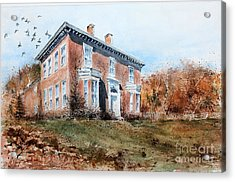 James Mcleaster House Acrylic Print