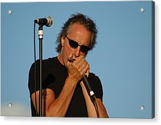 James Montgomery Acrylic Print by Mike Martin