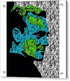 James The Great #jamescagney #hollywood Acrylic Print
