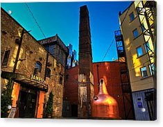 Jameson Distillery Acrylic Print by Justin Albrecht