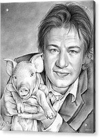 Jamie Oliver Acrylic Print