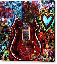 Jaming With Garcia Acrylic Print