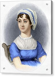 Acrylic Print featuring the photograph Jane Austen by Granger
