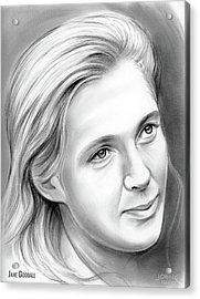 Jane Goodall Acrylic Print